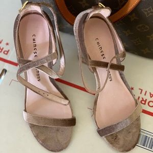 Chinese Laundry sandals, size 6
